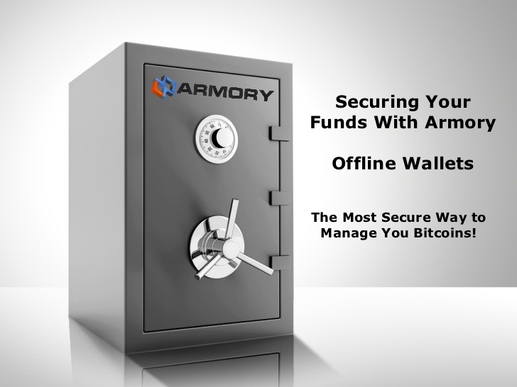 Armory wallet image